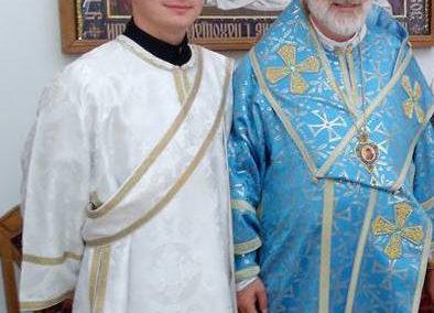 AXIOS to newly ordained Deacon Mykhailo Ozorovych