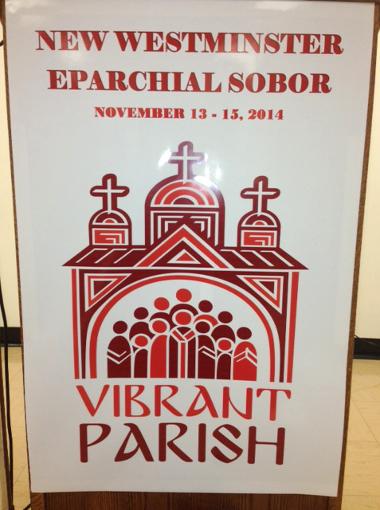 Логотип жива парафія на Соборі
