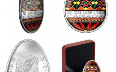 Ukrainian Pysanka by Royal Canadian Mint