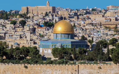 PILGRIMAGE TO THE HOLY LAND:  OCTOBER  12-24, 2017